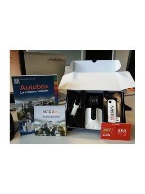 Routeur Wifi AutoBox pour véhicule moins de 10 places + adaptateur maison