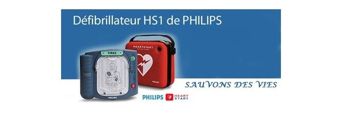 Défibrillateurs et accessoires