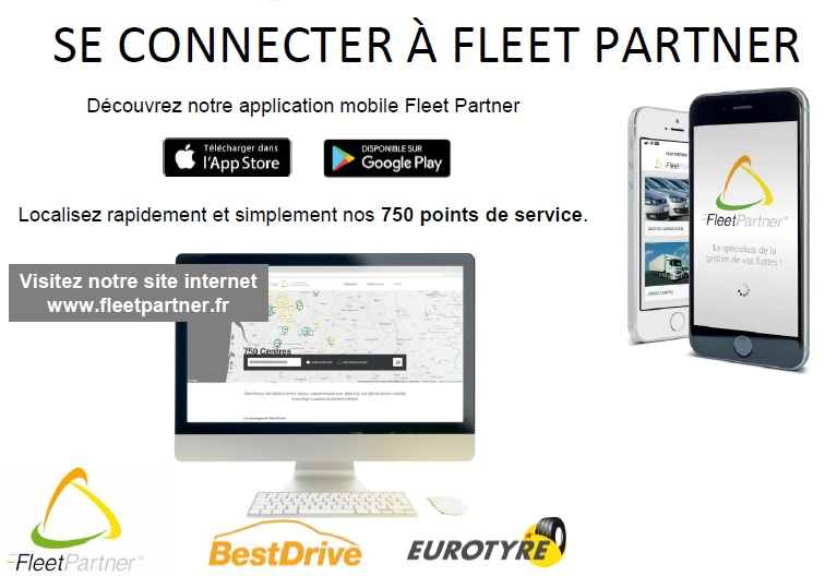 Application Mobile Fleetpartner